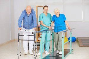 Los beneficios de la fisioterapia en personas mayores